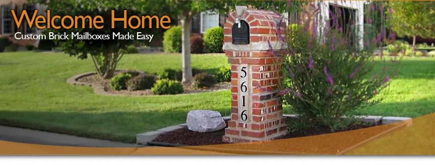 welcome to aaa brick mailbox - Brick Mailbox Designs